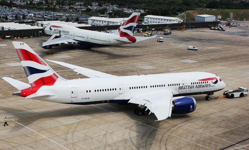 British Airways take delivery of their first Boeing 787 Dreamliner
