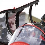 Lewis Hamilton in the RAF Red Arrows