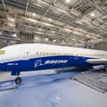 First Boeing 787-9 Dreamliner Features New Boeing Livery