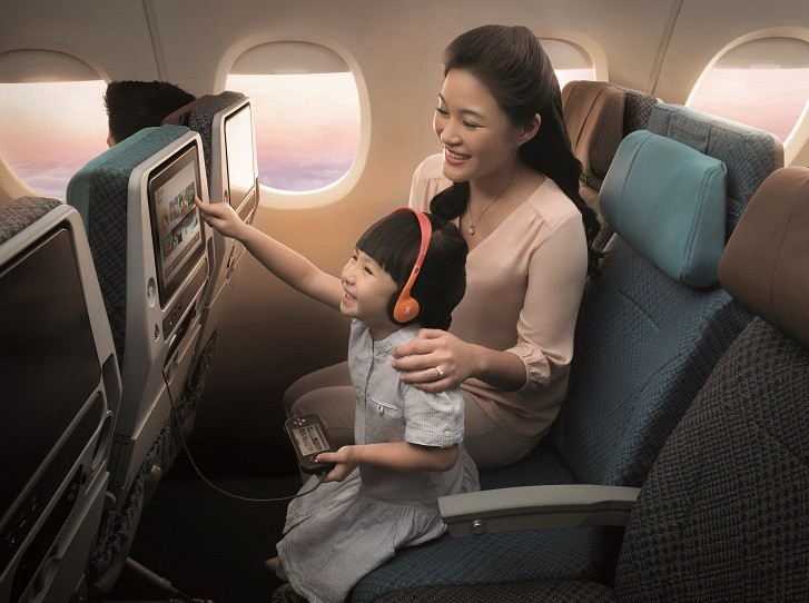 Singapore Airlines' passengers to get KrisWorld the most advanced IFE