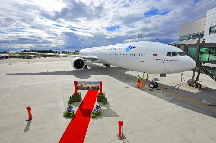 Garuda gets first Boeing 777-300ER to help kick-start new program