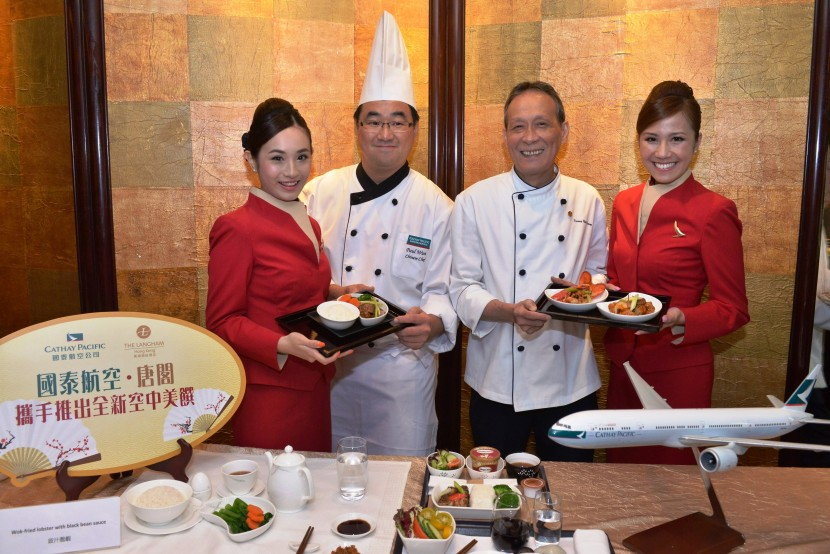 The Langham Hotel and Cathay Pacific launch healthly inflight food menu