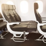 Air New Zealand Boeing 787-9 Economy Skycouch Seat Extended