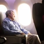 Air New Zealand Boeing 787-9 Premium Economy Seat Reclined