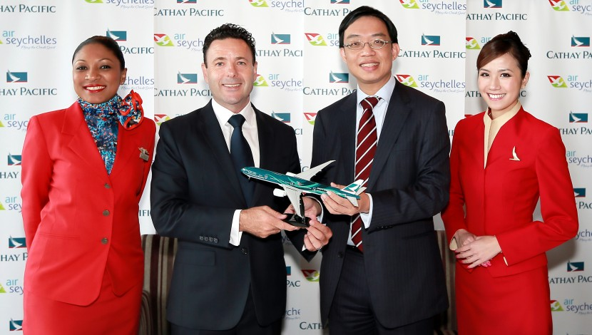 Cathay Pacific adds new destination with Air Seychelles code-share agreement