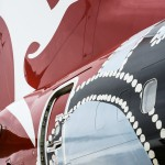 For the first time in the airline's 93 year history, the iconic Qantas tail has been included in the design