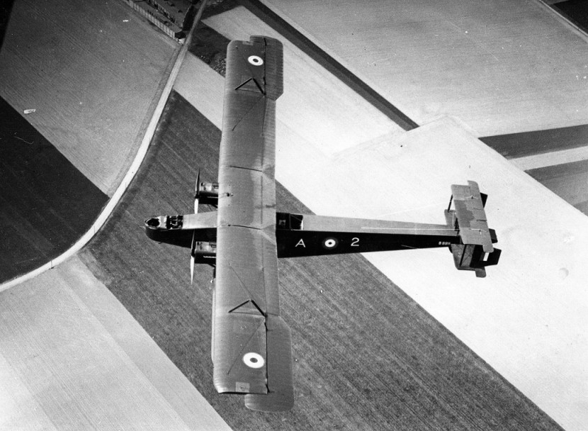 WW1 Handley Page bomber wings found in a garage moved to RAF Stafford