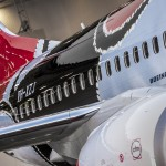 The Mendoowoorrji Qantas 737 Special Aboriginal Art Livery Paint Hangar Roll out