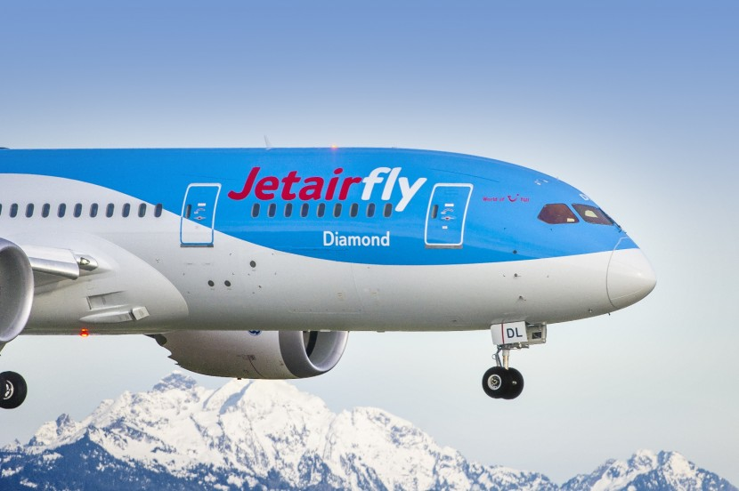 A first for Jetairfly as they take off in their new Dreamliner
