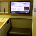Thai Airways Boeing 747-400 Royal First Class Cabin IFE Screen