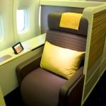 Thai Airways Boeing 747-400 Royal First Class Cabin Seat