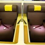 Thai Airways Boeing 747-400 Royal First Class Cabin Seats