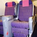 Thai Airways Boeing 747-400 Royal Silk Business Class Cabin Seats