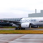 Airbus A350 MSN2 with Carbon livery