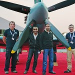 BAE Systems and the RAF Museum showcase a Spitfire at Bahrain International Airshow 2014