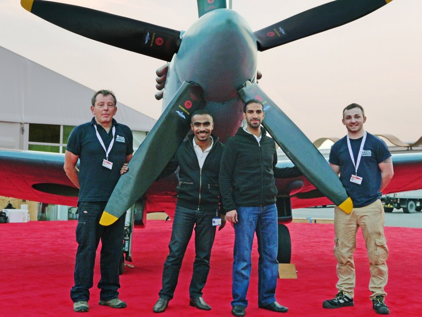 BAE Systems and the RAF Museum showcase Spitfire at Bahrain International Airshow