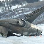 Private jet plane crash at Aspen Airport