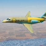 Cessna Citation Latitude Business Jet prototype -reaches maximum performance envelope during third flight test