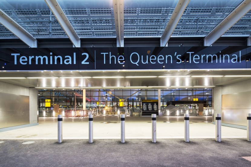 The Queen opens Heathrow Airport Terminal 2 again!