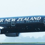 Air New Zealand's first Boeing 787-9 aircraft has landed in Auckland