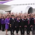 Thai Airways get their first Boeing 787 Dreamliner