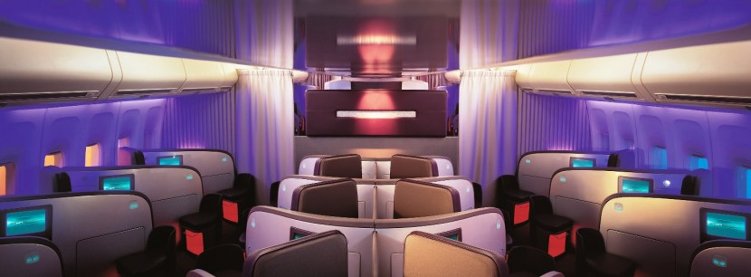 Virgin Atlantic Upper Class – Johannesberg to London