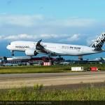 A350 XWB route proving trip