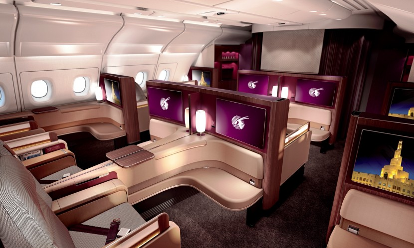 #QatarAirways offer a new First Class Cabin and Lounge on A380
