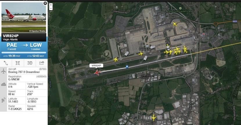 Happy Birthday Girl – Virgin Atlantic 787-9 arrives at Gatwick