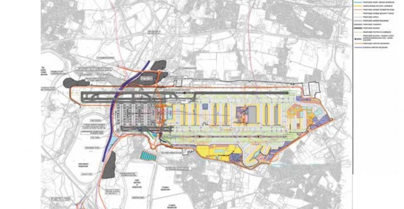 Airports Commission publishes consultation on shortlisted new London runway options