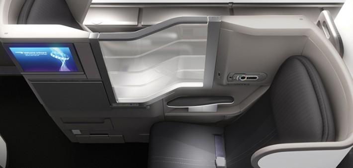 British Airways A380 Club World Business Class Cabin