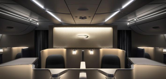 British Airways A380 First Class Cabin