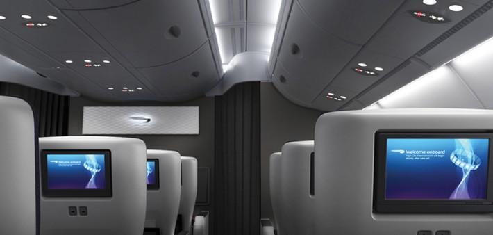 British Airways A380 World Traveller Plus Premium Economy Cabin