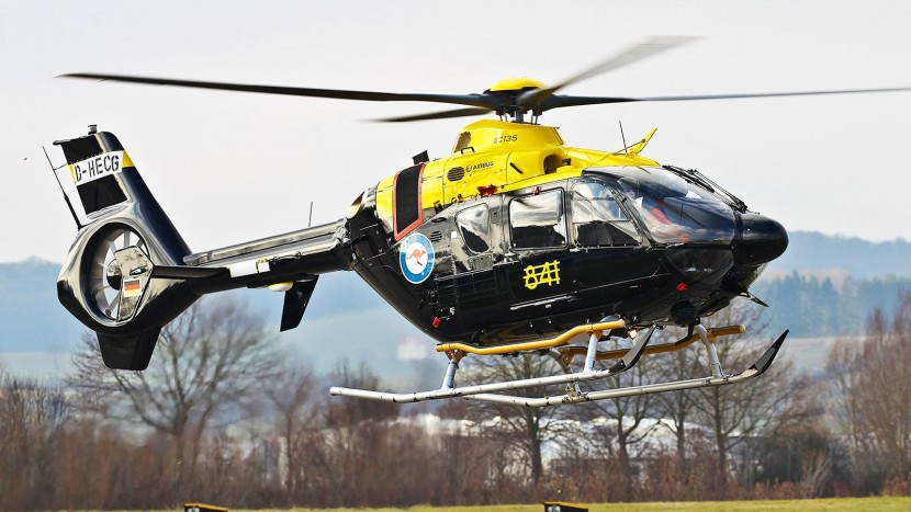 Australian military's new EC135 T2+ training helicopter takes to air