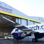 Monarch Aircraft Engineering Limited (MAEL) Boeing GoldCare approved aircraft maintenance facility at Birmingham Airport