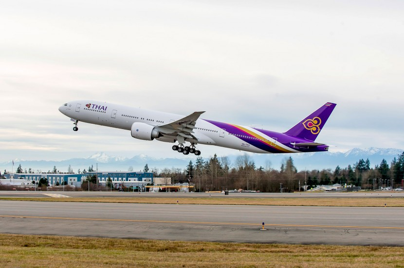 Thai Airways celebrate 75th direct Boeing aircraft delivery