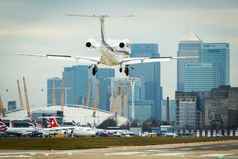 NetJets flies first Phenom 300 into London City Airport