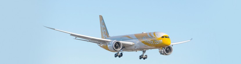 Scoot take delivery of their first 787