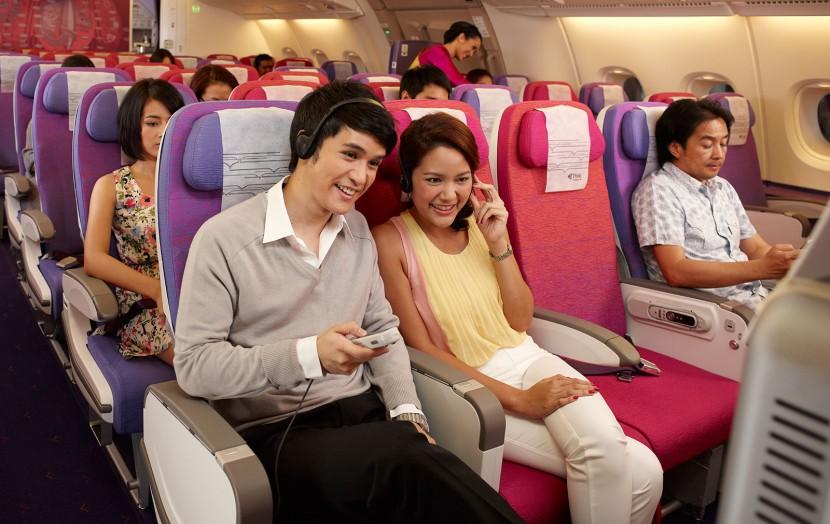Flying on Thai Airways A380