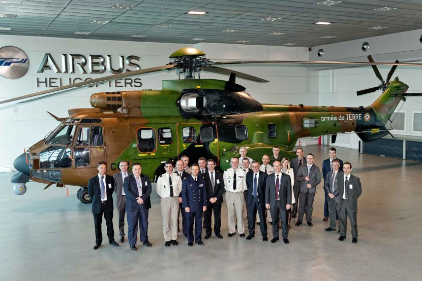 French Army receive two more upgraded AS532 Cougar helicopters