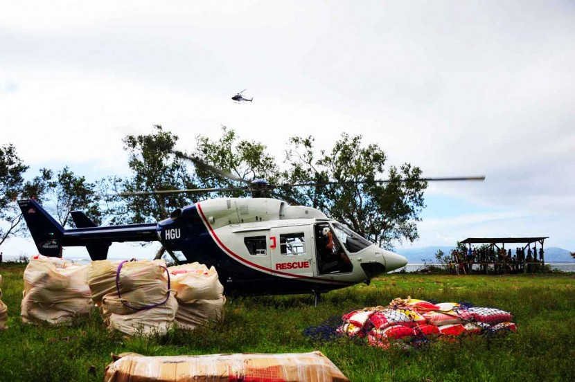 Airbus Helicopters Foundation provides Cyclone Pam aid in Vanuatu