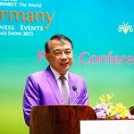 TCEB President Nopparat promoting Thailand MICE industry