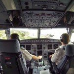 BA A320 Funchal Airport Approach