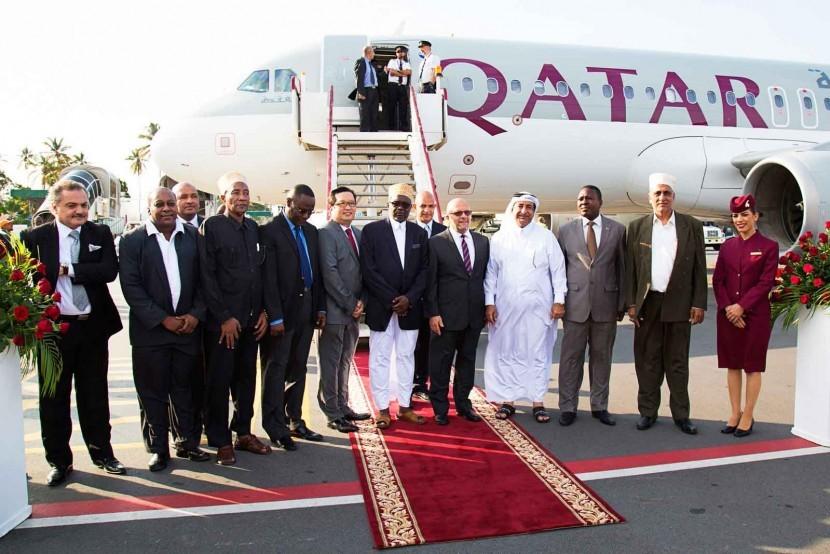 Qatar Airways has begun flights to Zanzibar