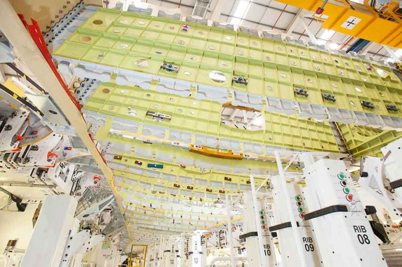 Airbus begins production of the first A350-1000 wing