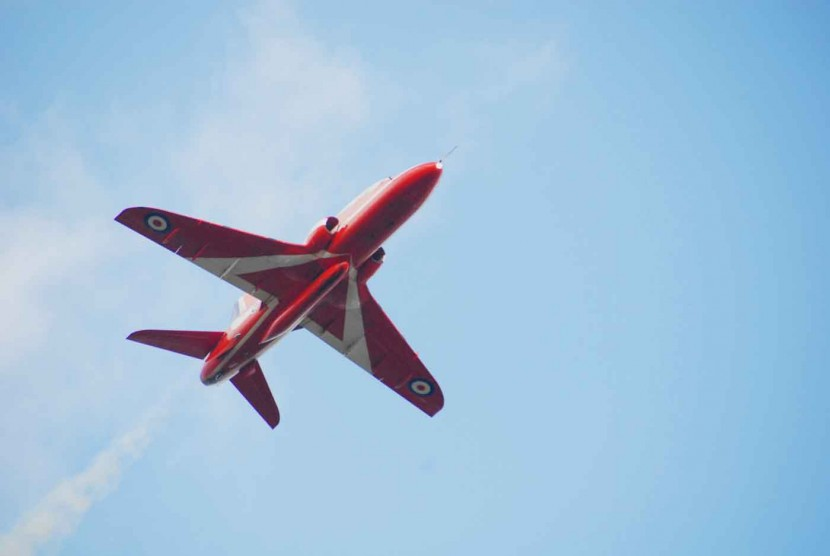 Red Arrows Display Team back in the air after a difficult weekend!