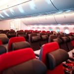Virgin Atlantic 787 Economy Cabin