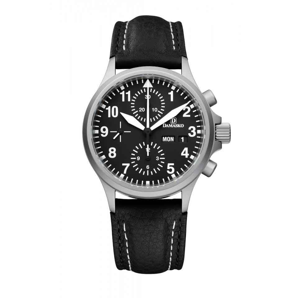 Page and Cooper's pilot watches Damasko DC56