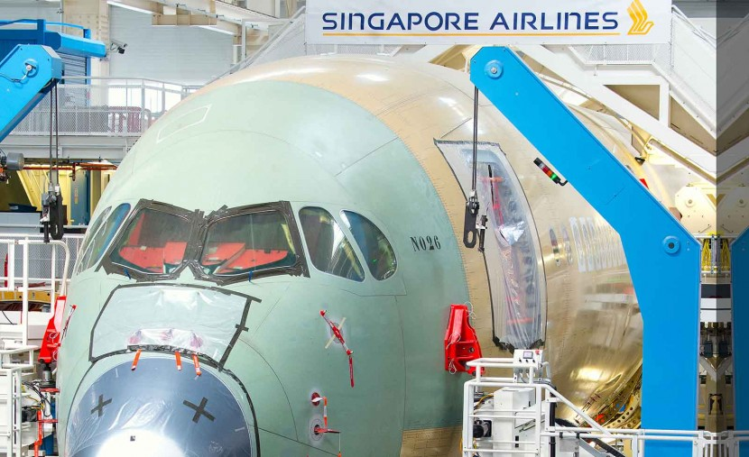 First Singapore Airlines A350 is to fly Amsterdam route from April 2016