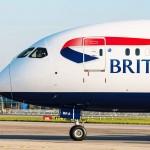 The first British Airways Boeing 787-9 Dreamliner